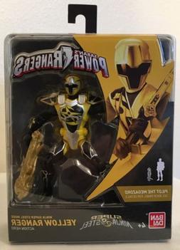 Power Rangers Super Ninja Steel mode Yellow Ranger Action Fi