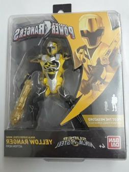 Power Rangers Super Ninja Steel Mode Yellow Ranger Action He