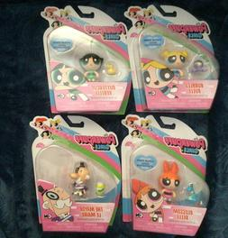 Powerpuff Girls Complete Action Figure Set - Blossom, Bubble