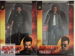 "PREACHER 'Jesse Custer' & 'Cassidy' SET AMC NECA 2017 7"" INC"
