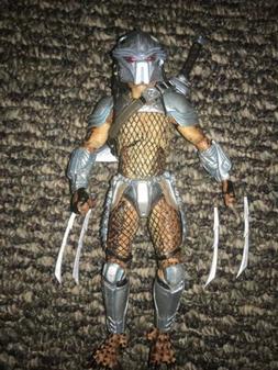 "Predator  7"" Scale Action Figures Horn Head NECA"