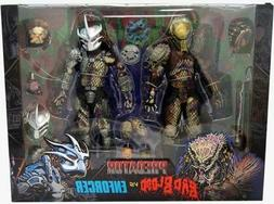 NECA PREDATOR BAD BLOOD & ENFORCER ULTIMATE 7 INCH SCALE ACT
