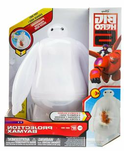projection baymax vinyl action figure with sound