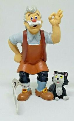 PVC figure Pinocchio - GEPETTO AND FIGARO - BULLYLAND New wi