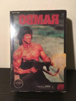 Rambo NECA Action Figure Reel Toys Brand New Sealed Mint Fir