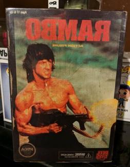 Rambo Action Figure Video Game Style NECA NIB Reel Toys NIP