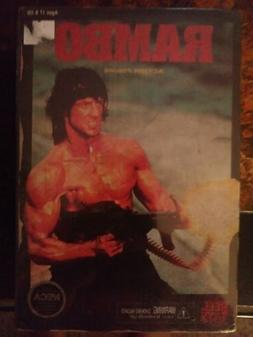 RAMBO FACTORY SEALED NECA  First Blood  Action Figure 1982 v