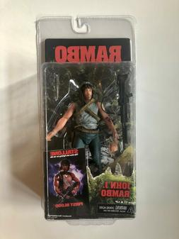 "NECA Rambo First Blood John J. Rambo 7"" action figure"