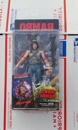 Neca Rambo John J. Rambo First Blood Action Figure 7 inch