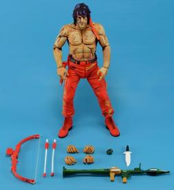 """Rambo Video Game Neca action figure about 7"""" tall brand new"""