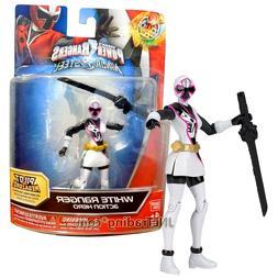 Power Rangers Ninja Steel 5 inch Hero Action Figure - White
