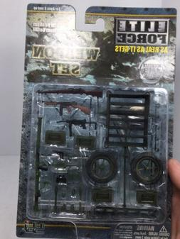 Rare 1/18 BBI Elite Force U.S. Airborne Paratrooper Weapon S