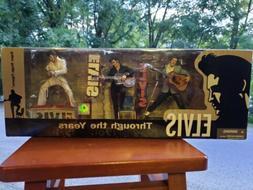 RARE/OOP/SEALED Elvis Through the Years 1954-1970 figure box
