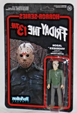 reaction action figure friday 13th cult horror