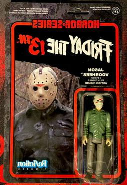 FUNKO REACTION action figure FRIDAY The 13th JASON VOORHEES