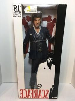 Neca Reel Toys 18 Inch Motion Sound Scarface Statue Figure i