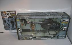 Retired 1/18 BBi Elite Force Army MH-6 Night Stalker SOAR HE