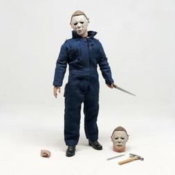 "NECA Retro Clothed Michael Myers Halloween 2 8"" Horror Figur"