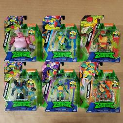 Rise Of The Teenage Mutant Ninja Turtles Action Figures - SE