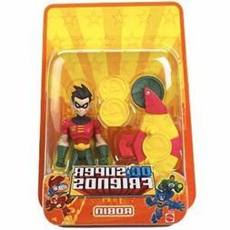 Robin DC Super Friends Mattel Action Figure Kid Friendly toy