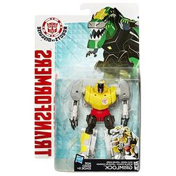 Transformers Robots in Disguise Warrior Class Gold Armor Gri
