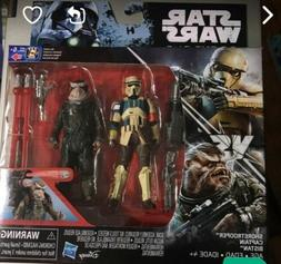 Star Wars Rogue One Shoretrooper Captain and Bistan Action F