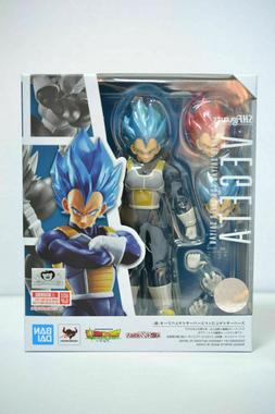 S.H.Figuarts Dragon Ball Super Saiyan God SSGSS Vegeta blue