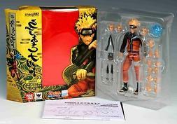 S.H.Figuarts Uzumaki Naruto Tamashii Web PVC Action Figure T