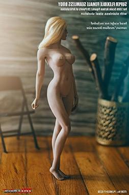 OBEST 1/6 Female Super Flexible Seamless Body Pale Action Fi
