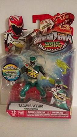 Saban's Power Rangers Dino Super Charge Green Ranger Translu
