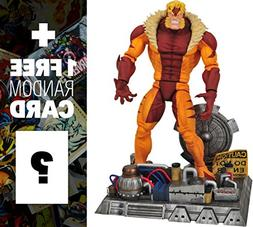 Sabretooth: Marvel Select x Diamond Select Action Figure + 1