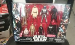 STAR WARS SAGA ACTION FIGURES 8 PACK WITH DARTH MAUL NEW IN