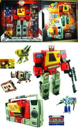 Transformers SDCC 2010 Exclusive G1 Autobot Blaster Action F