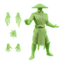 SDCC 2015 Mortal Kombat Raiden 6 Inch Glow in the Dark Figur