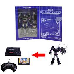 "SEGA GENESIS MEGATRON - Transformers 7.5"" Limited Action Fig"