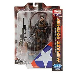 "Marvel Select Winter Soldier 7 1/2"" Action Figure---"