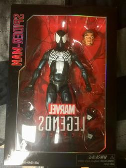 Marvel Legends Series 12 inch Symbiote Black Spider-Man Acti