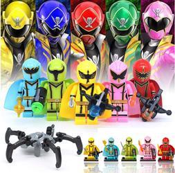 SET 5pcs/lot Mighty Morphin Power Ranger Fit Lego Toys - RK