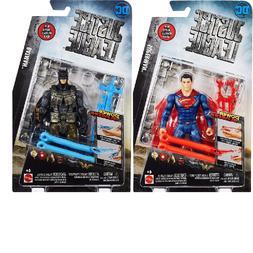 Set of 2 DC Comics Justice League Batman & Superman Power Sl