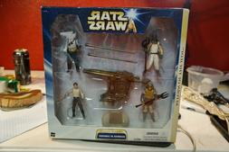 Hasbro Skirmish at Carkoon Action Figures Star Wars: ROTJ Fa