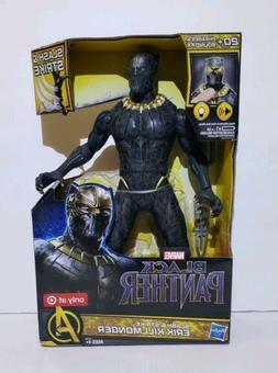 """MARVEL Slash and Strike Black Panther 13"""" Action Figures E"""