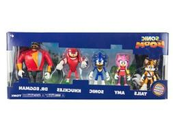 TOMY Sonic Boom Action Figure Playset Multi Pack of 5 NEW