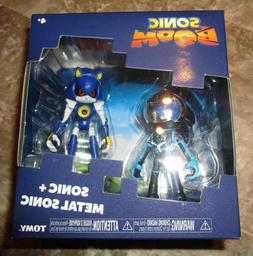 SONIC BOOM BLACK SPACE SUIT SONIC AND METAL SONIC 2 PACK FIG
