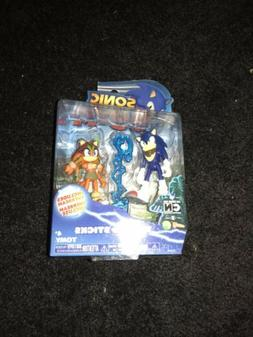 Sonic the Hedgehog Boom & Sticks Tomy Action Figures New Seg