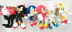 "SONIC the HEDGEHOG Series 8"" Plush - Tails, Knuckles, Sonic,"