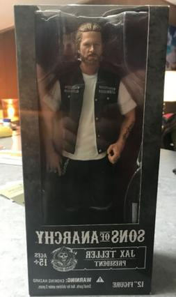 Mezco Sons of Anarchy Jax Teller President 12 Inch Figure -