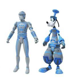 Diamond Select Toys Space Paranoids Goofy & Tron Action Figu