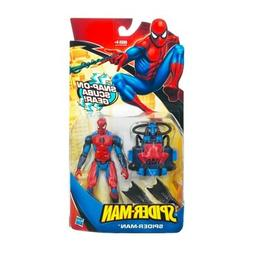 Spider-Man Hasbro Classic Heroes Action Figure Spider-Man wi