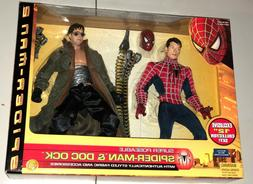 "Spider-Man 2 Collector's Set Spiderman & Doc Ock 12"" Super-P"