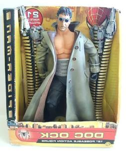 """Spider-Man 2 """"DOC OCK"""" 12 inch Poseable Action Figure Toy Bi"""